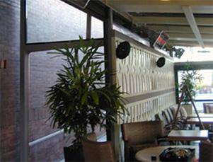 Монтаж EUCERAMIC в кафе