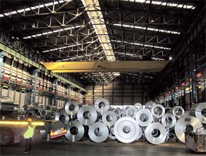 Монтаж EUCERAMIC на металлургическом заводе